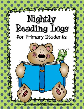 Nightly Reading Logs for Primary Students