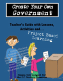 Project Based Learning - Create Your Own Government 6th th