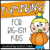 No Prep Pumpkin Printables for Big-ish Kids! Math and ELA