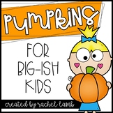 No Prep Pumpkin Printables for Big-ish Kids! Math and ELA