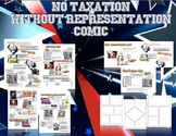 No Taxation Without Representation Comic Lesson Plan