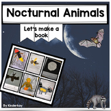 Nocturnal Animals Let's Make a Book