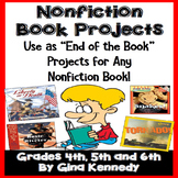 Nonfiction Enrichment Book Report Projects, Use With Any Book