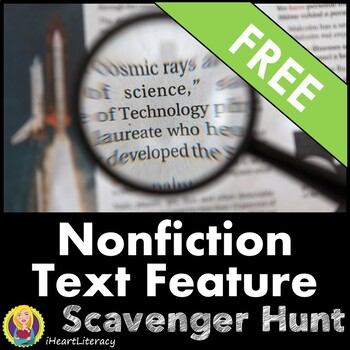 Nonfiction Text Features Freebie - iHeartLiteracy