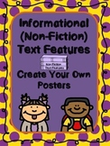 Non Fiction Text Features Posters (Informational Text Feat