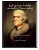 Non-Fiction: Thomas Jefferson Common Core Aligned Document
