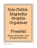 FREE -- Non-fiction magazine graphic organizer