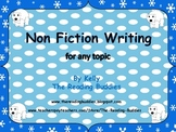Non fiction writing for any time of the year