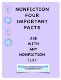 NonFiction Text Four Important Facts