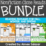 Nonfiction Close Reads THE BUNDLE (Fall, Winter, Spring)-C