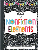 Nonfiction Text Features Booklet for Kids