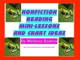 Nonfiction Reading Charts, Mini-lessons, and more!
