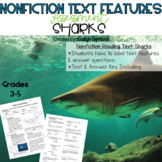 Nonfiction Text Features Assessment 1: Sharks