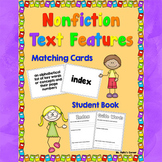 Nonfiction Text Features Book with Matching Cards