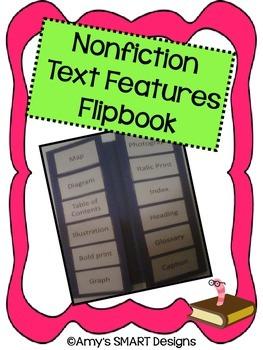 Nonfiction Text Features Flipbook