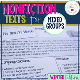 Nonfiction Texts Targeting Articulation and Language {Wint