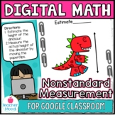 Nonstandard Measurment Math Work Station Practice Sheets