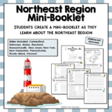 Northeast Region Mini-Book Activities Interactive Notebook