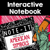 Note It! American Symbols Interactive Notebook Kit