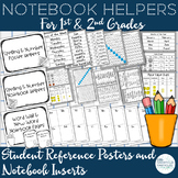 Notebook Helpers: Student Reference Posters and Notebook Inserts
