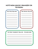 Notetaking Graphic Organizer for Textbooks