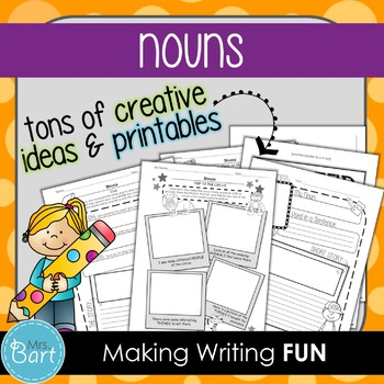 Nouns: Creative and Hands-On Ideas!