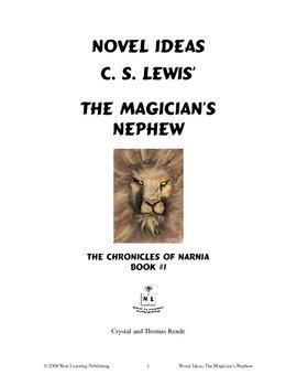 Novel Ideas: C. S. Lewis' The Magician's Nephew