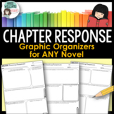 Novel Study - Reading Journal - Graphic Organizers - For a