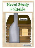 Novel Study foldable template