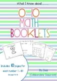 Number Booklets 1-10