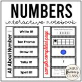 Number Interactive Notebook {1-10}