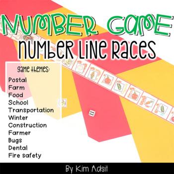 Number Line Games