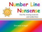 Number Line Nonsense 0-20