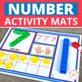 Number Mats 1-10: Early Math Concepts for Preschool and ECE