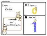Number Recognition Game: 0-10 Monkey Theme