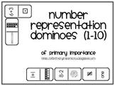 Number Representation Dominoes (1-10)