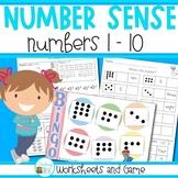 Number Sense - Numbers 1 - 10