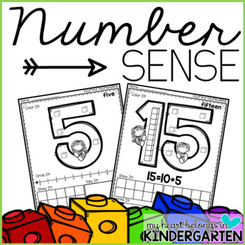 Number Sense Printables (Numbers 1 to 20)