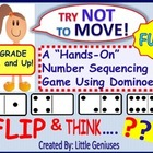Number Sequencing Game for Grades One and Two: A Fun Freebie