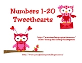 Number Tweethearts