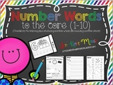 Number Words Printables for 1-10