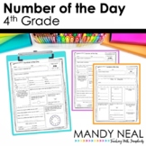 Number of the Day- 4th Grade Common Core Aligned