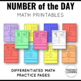 Number of the Day Activity Pack!