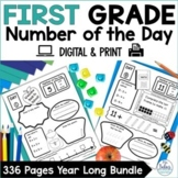 Number of the Day {The Whole Year!} First Grade Place Valu