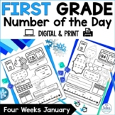 First Grade Math Place Value {January} Number of the Day
