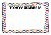Number of the Day calendar pack