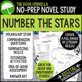 Number the Stars by Lois Lowry Novel Study