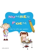 Number writing poem