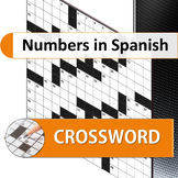 Numbers in Spanish Crossword Puzzle
