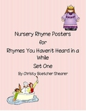 Nursery Rhyme Posters Set One